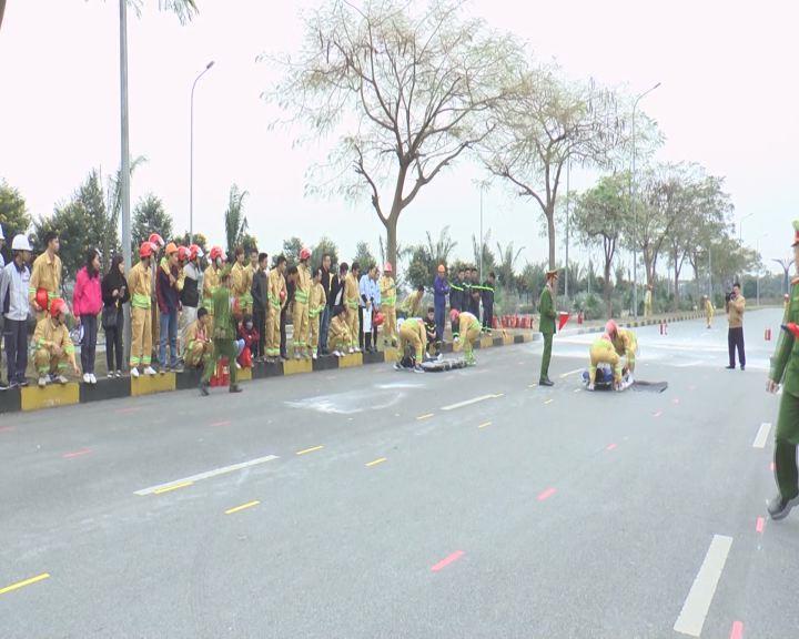 Hội thao Chữa cháy và cứu nạn cứu hộ tại khu công nghiệp VSIP năm 2017