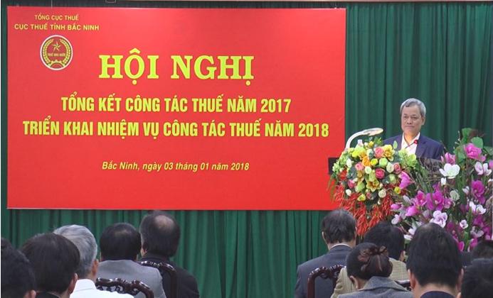 Cục Thuế tỉnh triển khai nhiệm vụ 2018