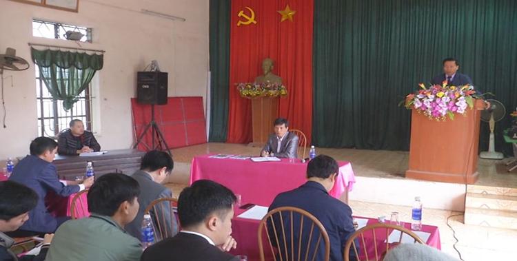 Bí thư Tỉnh ủy dự sinh hoạt Chi bộ tại thôn Liên Ấp
