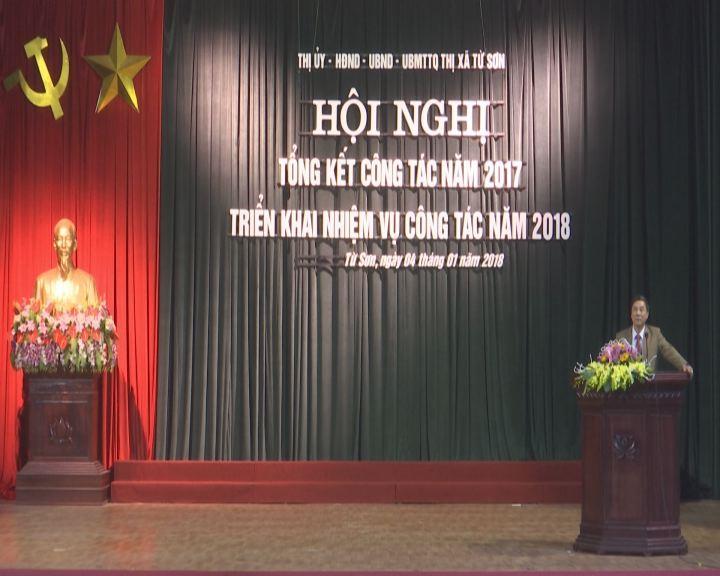 Thị xã Từ Sơn triển khai công tác năm 2108