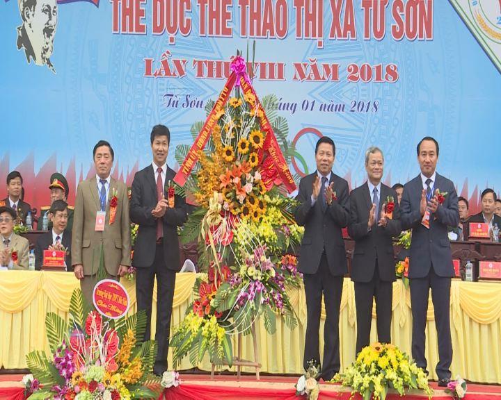 Khai mạc Đại hội Thể dục thể thao thị xã Từ Sơn