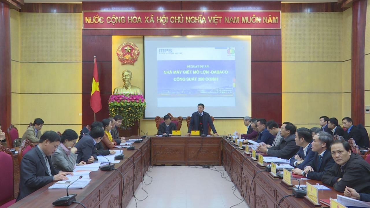 Bộ Nông nghiệp & Phát triển nông thôn làm việc với tỉnh Bắc Ninh