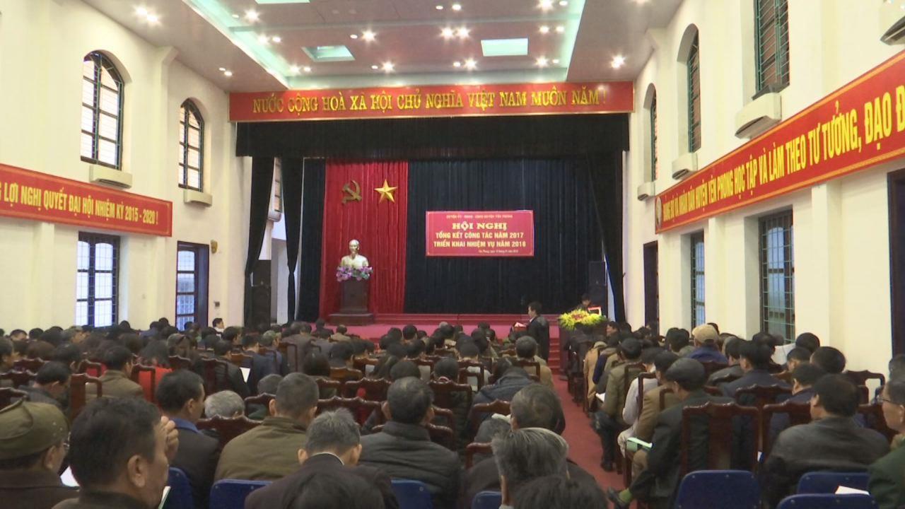 Huyện Yên Phong triển khai nhiệm vụ năm 2018