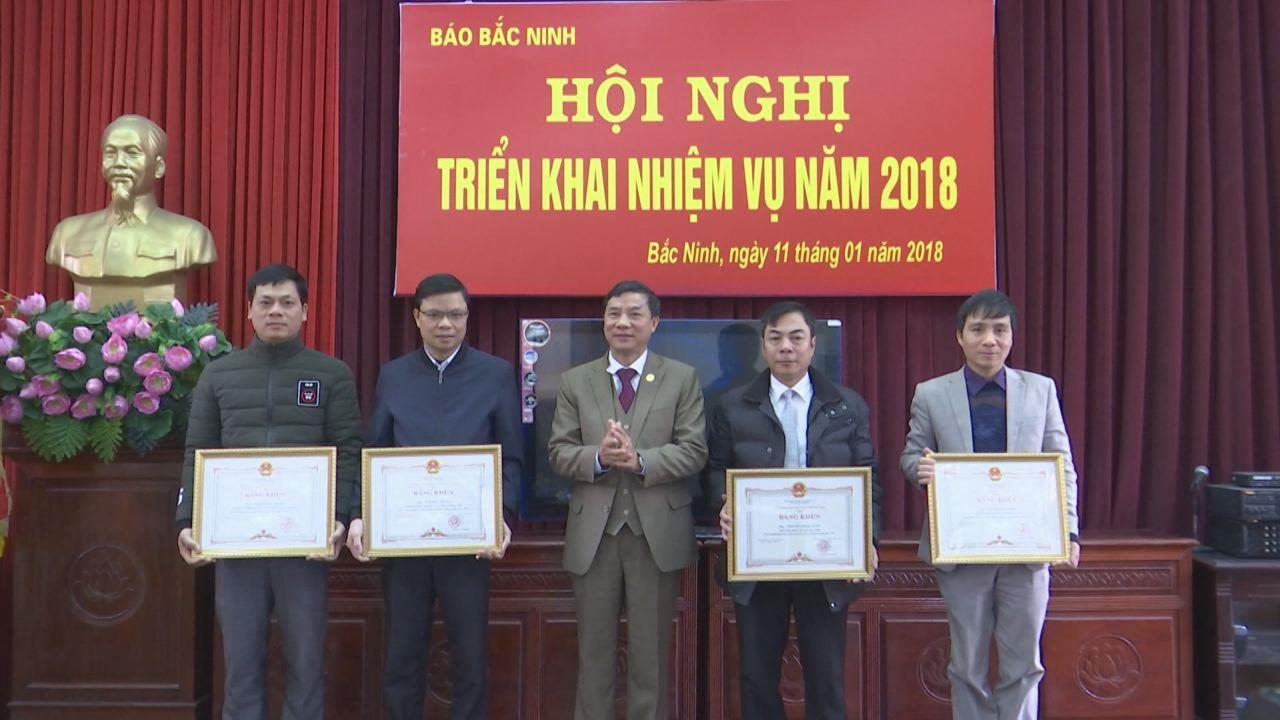 Báo Bắc Ninh triển khai nhiệm vụ năm 2018