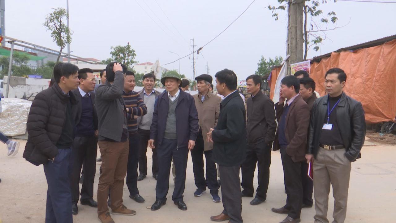 Phó Chủ tịch Thường trực UBND tỉnh kiểm tra tại Yên Phong