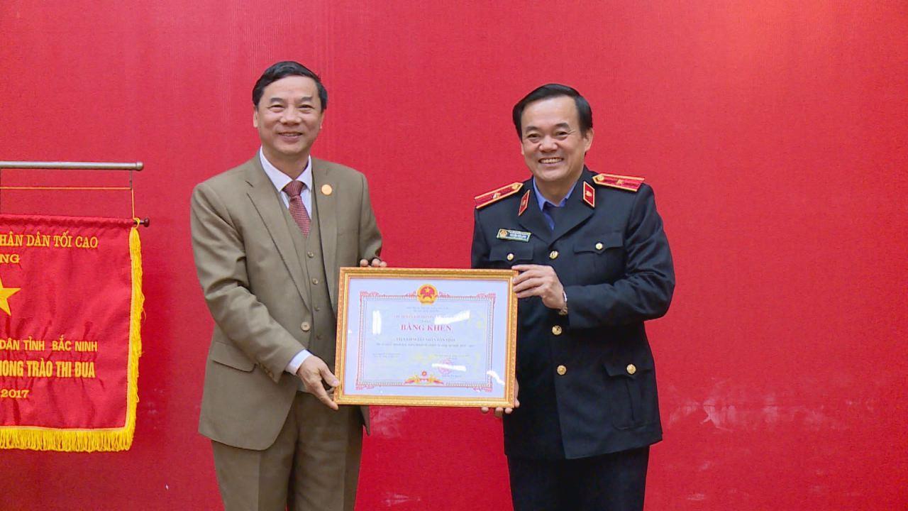 Viện Kiểm sát nhân dân tỉnh triển khai nhiệm vụ năm 2018