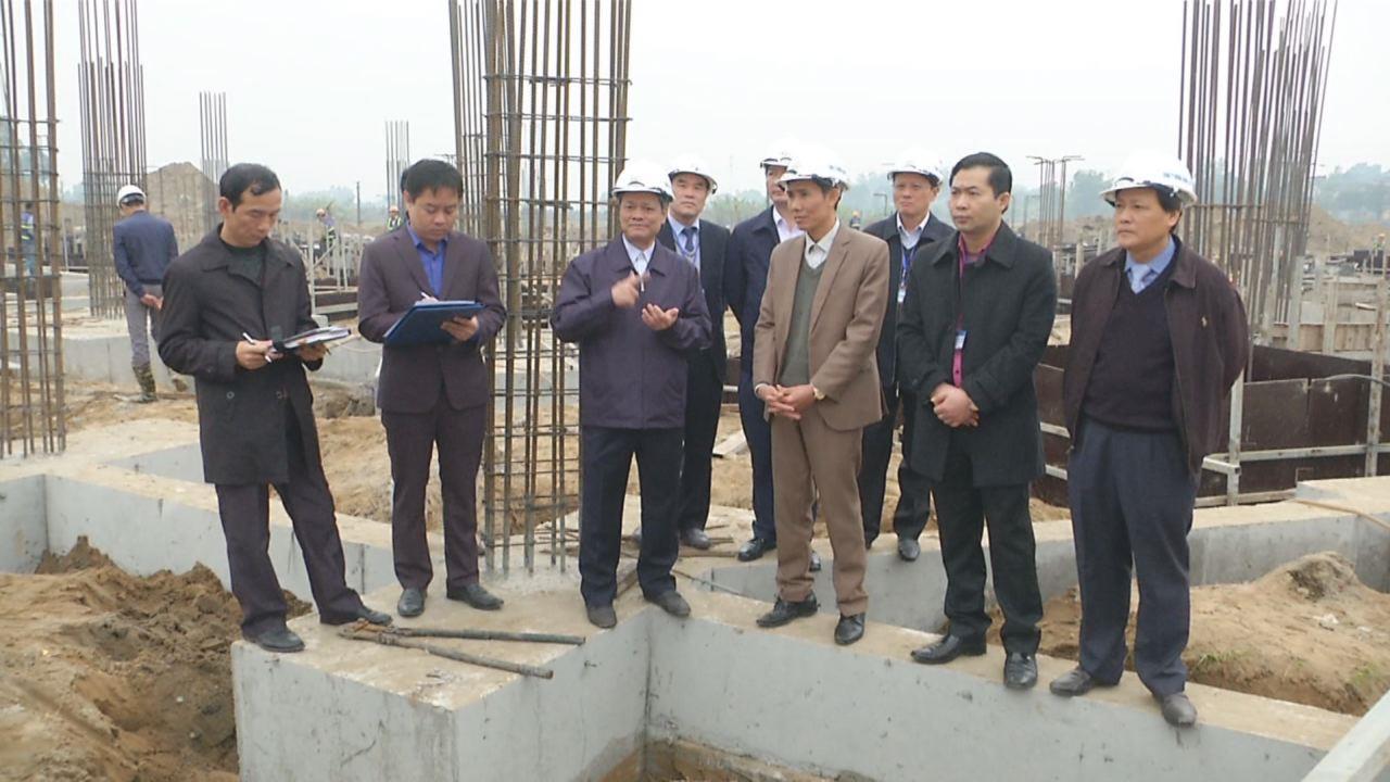 Chủ tịch UBND tỉnh kiểm tra một số công trình trọng điểm tại thành phố Bắc Ninh