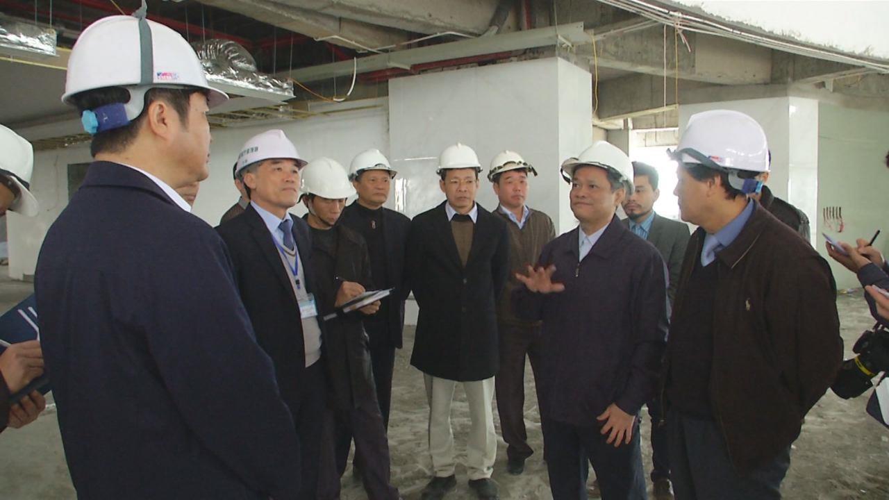 Chủ tịch UBND tỉnh kiểm tra một số công trình trọng điểm