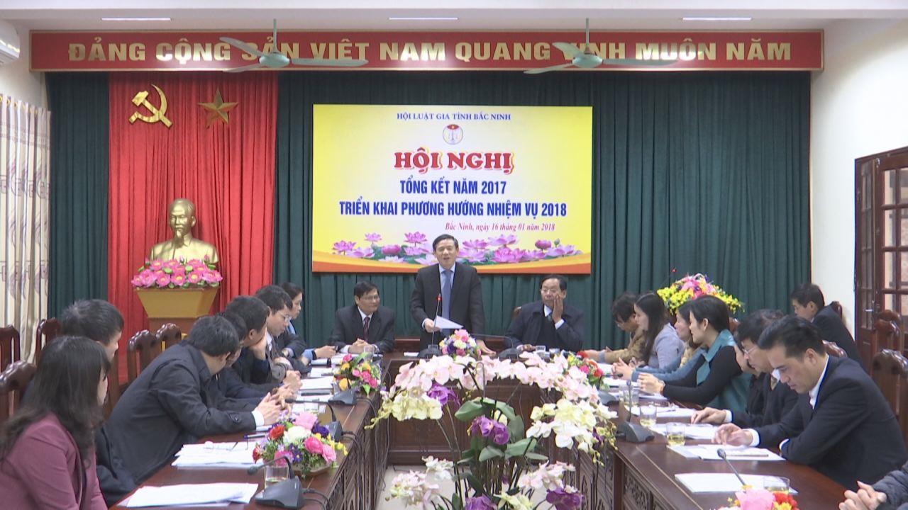 Hội luật gia tỉnh triển khai nhiệm vụ năm 2018