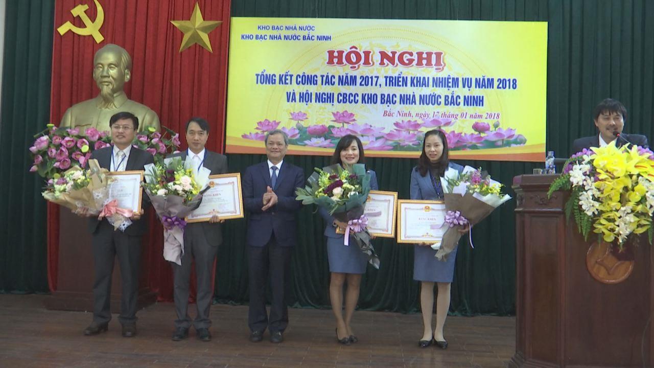 Kho bạc Nhà nước Bắc Ninh triển khai nhiệm vụ 2018