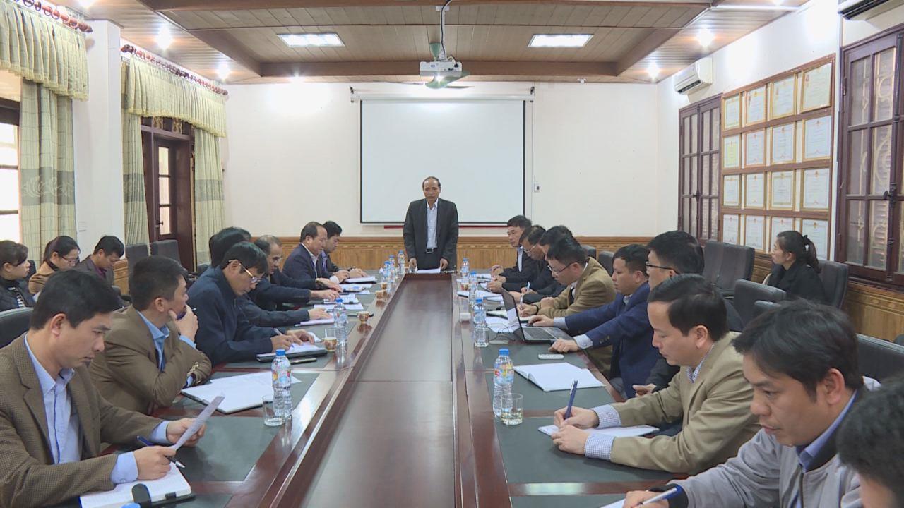 Đồng chí Nguyễn Hữu Thành làm việc với Sở Giao thông vận tải