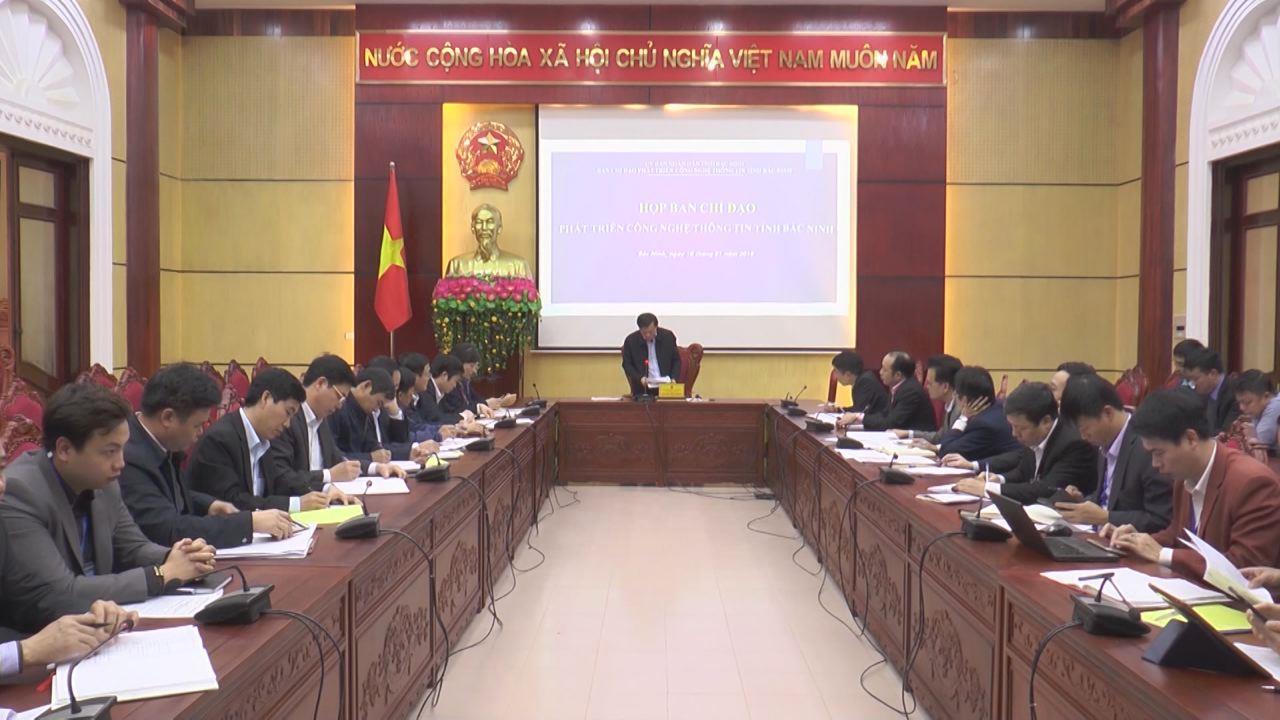 Ban Chỉ đạo phát triển công nghệ thông tin tỉnh triển khai nhiệm vụ 2018