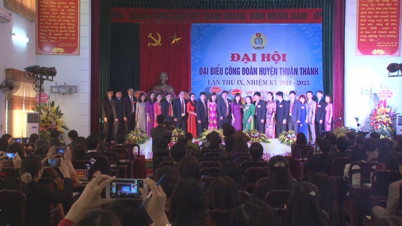 Thuận Thành tổ chức thành công Đại hội Công đoàn khóa IX
