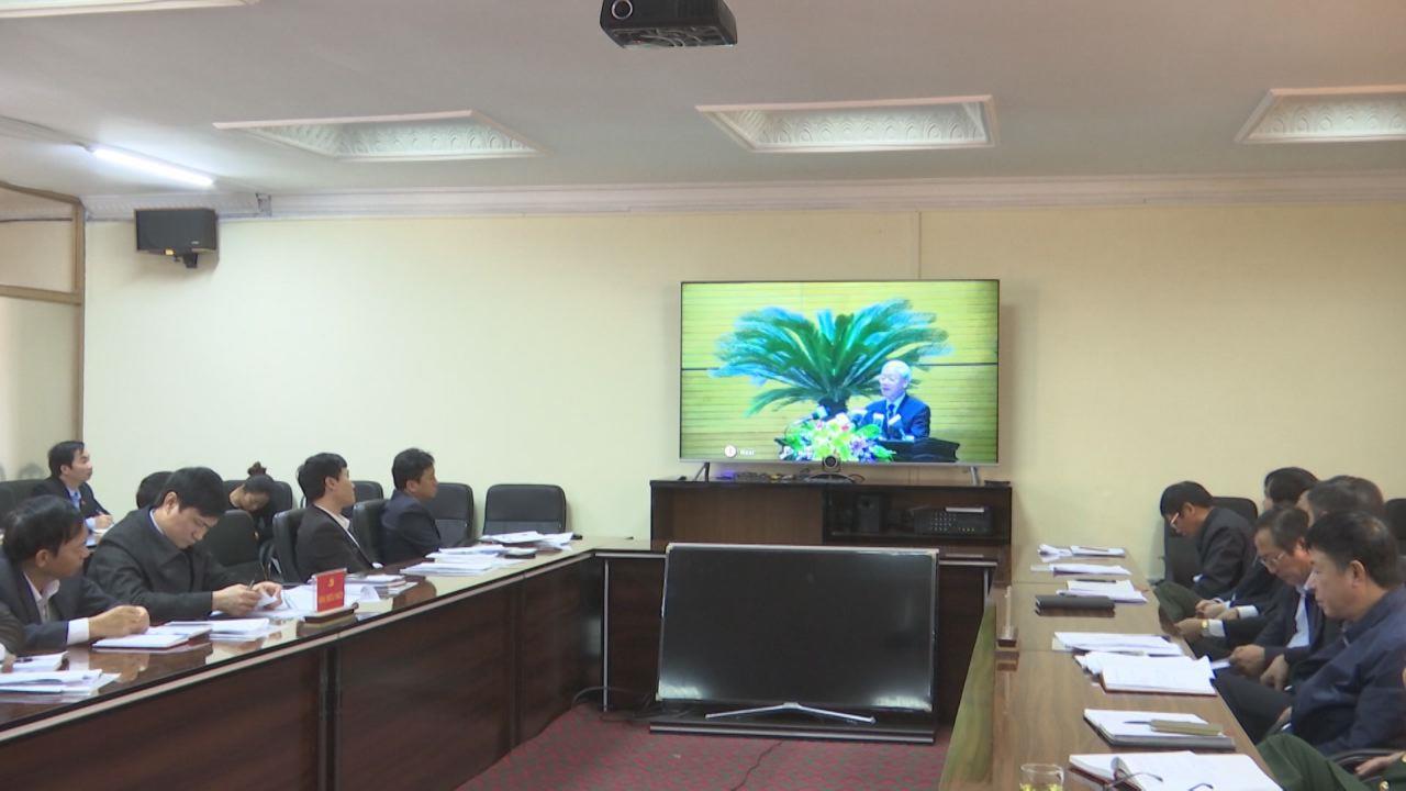 Hội nghị trực tuyến toàn quốc triển khai công tác tổ chức  xây dựng Đảng năm 2018