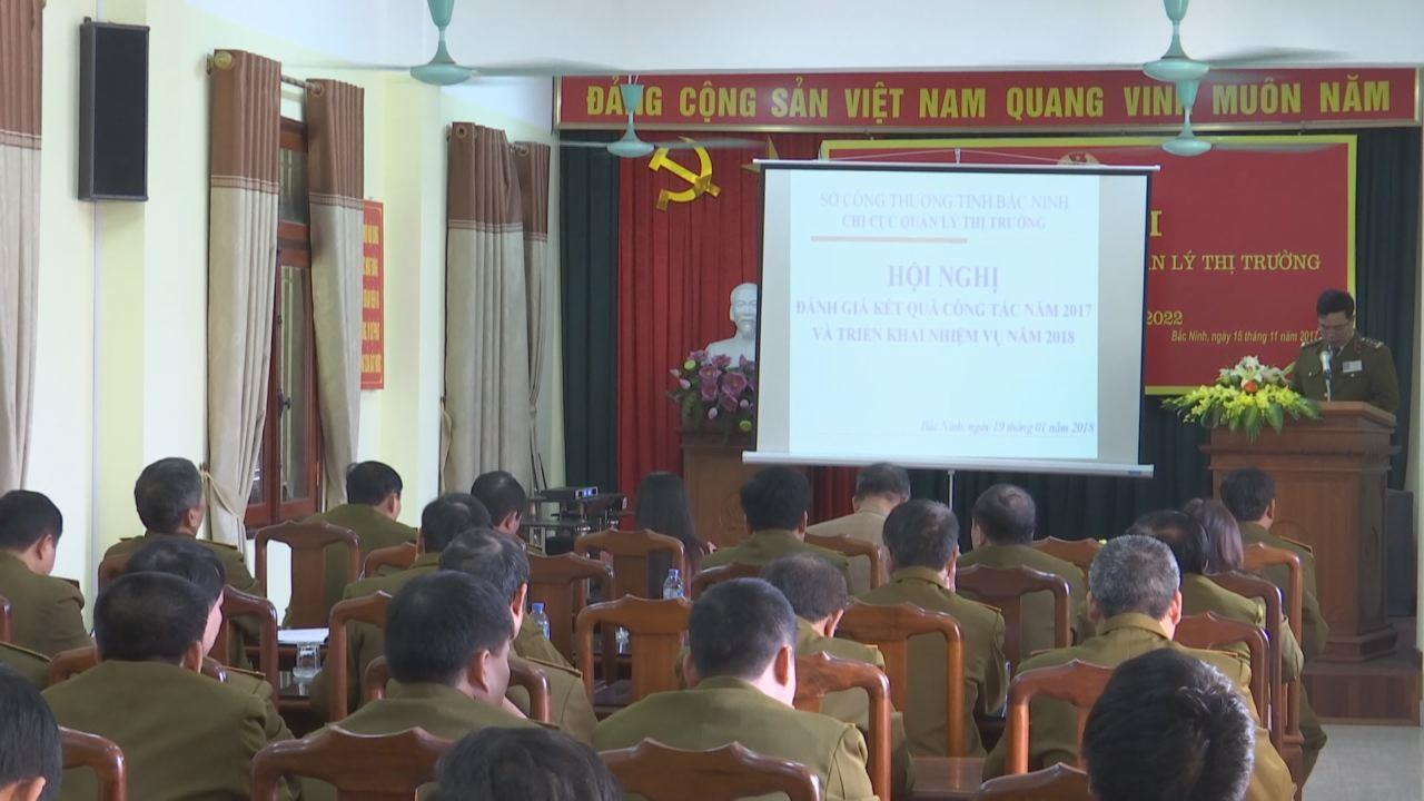 Chi cục QLTT Bắc Ninh triển khai nhiệm vụ 2018