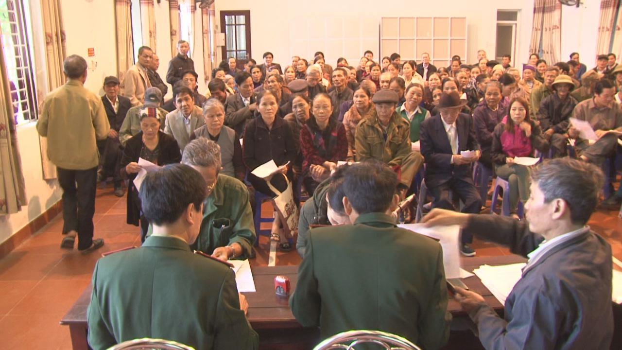 Thuận Thành chi trả trợ cấp theo Quyết định 49 và 62 của Chính phủ