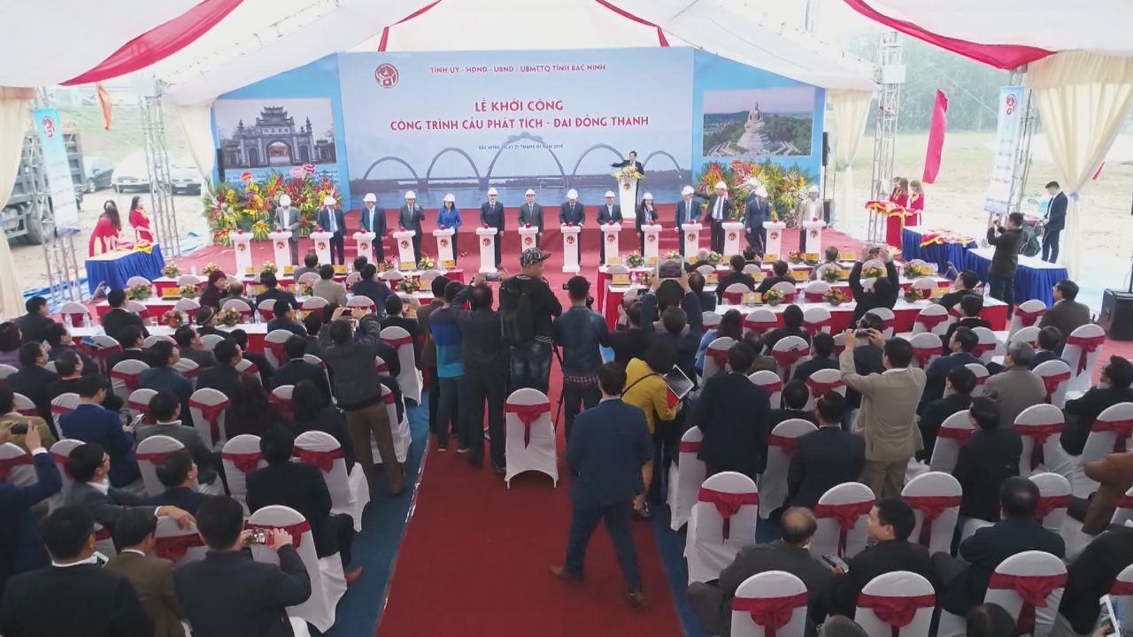 Bắc Ninh khởi công xây dựng cầu Phật Tích- Đại Đồng Thành