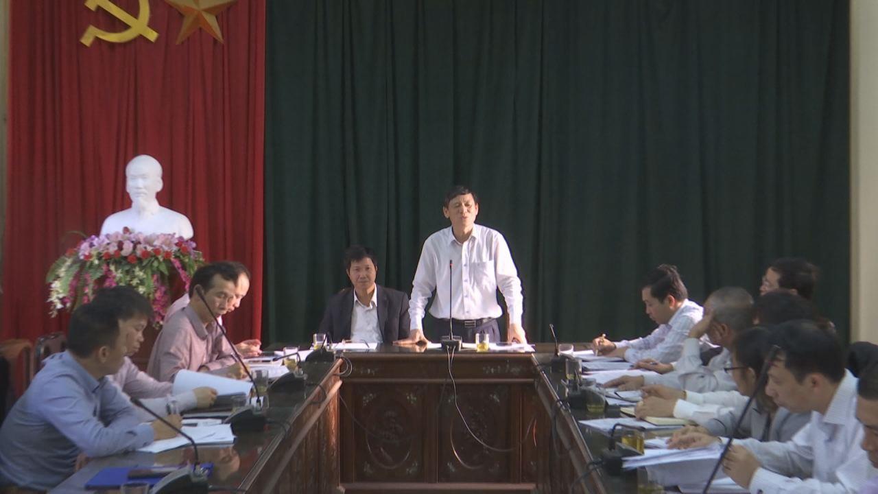 Đồng chí Nguyễn Tiến Nhường làm tại Từ Sơn về nước sạch