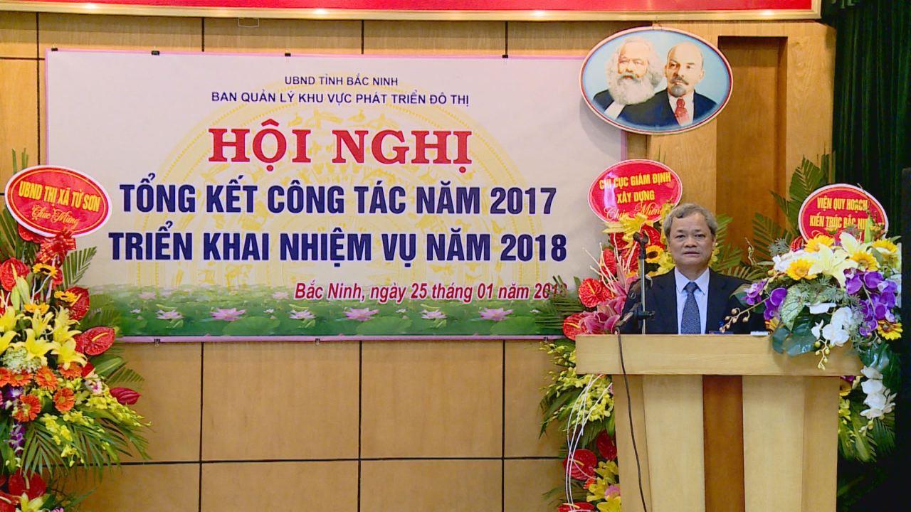 Ban Quản lý khu vực phát triển đô thị triển khai nhiệm vụ 2018