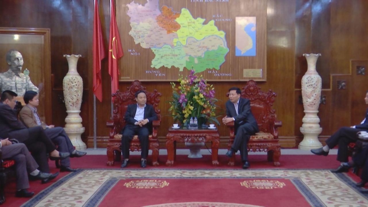 Bí Thư tỉnh ủy tiếp đoàn công tác Báo Nhân dân