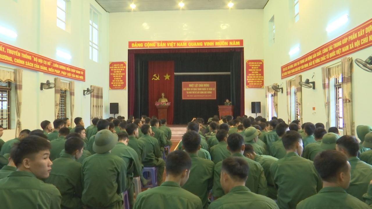 Tư vấn hướng nghiệp, học nghề và giới thiệu việc làm  cho bộ đội xuất ngũ tại huyện Thuận Thành