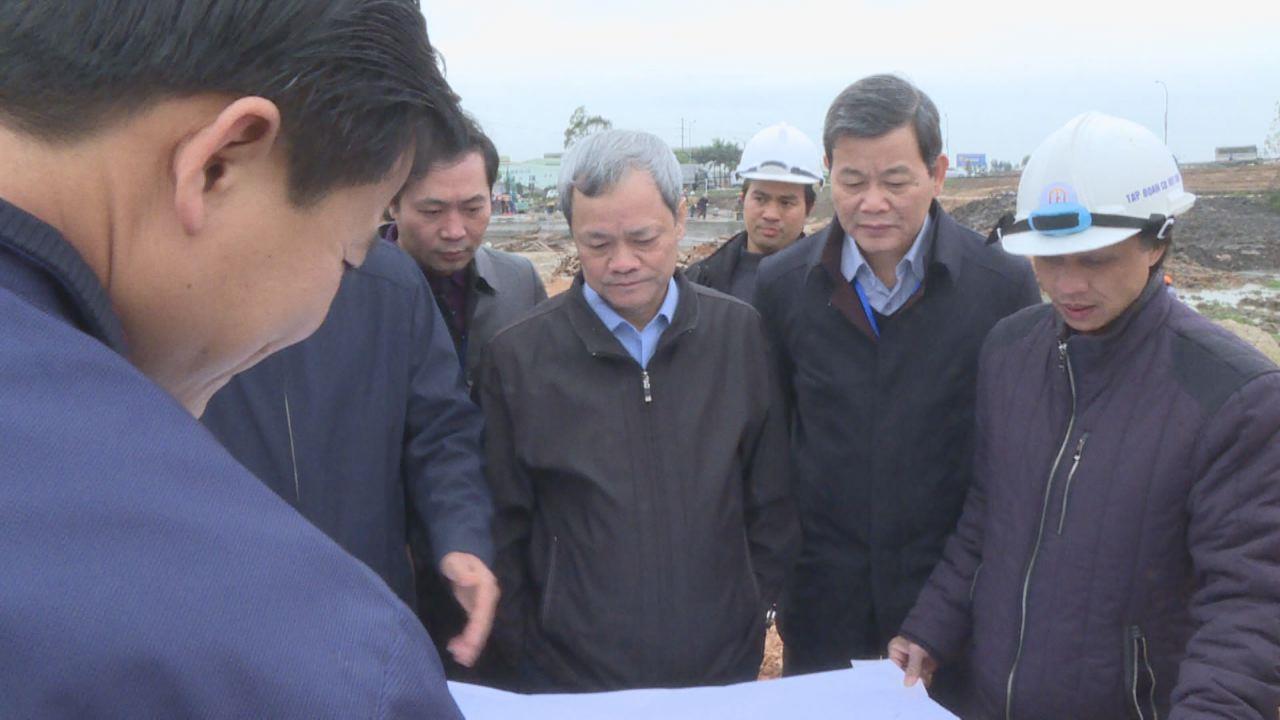 Chủ tịch UBND tỉnh kiểm tra một số dự án trên địa bàn thành phố Bắc Ninh