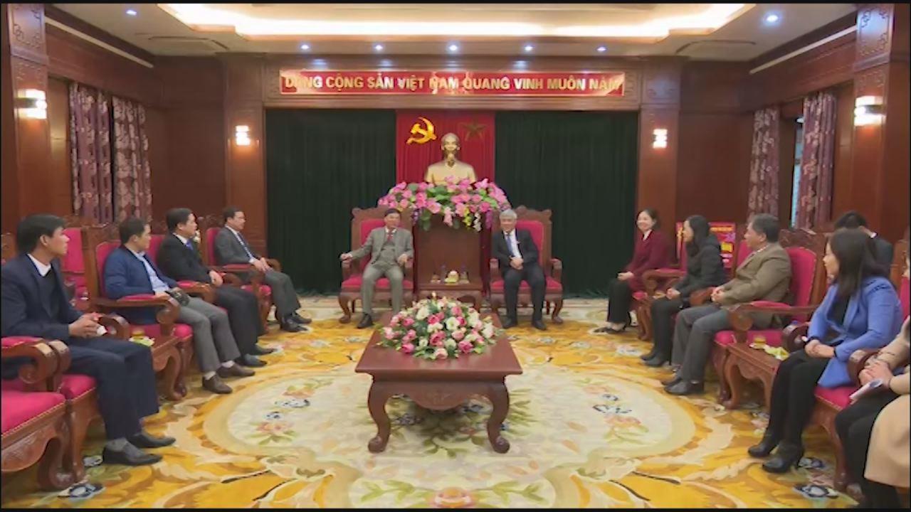 Phó Bí thư Thường trực Tỉnh ủy Nguyễn Hữu Quất thăm và làm việc tại Sơn La