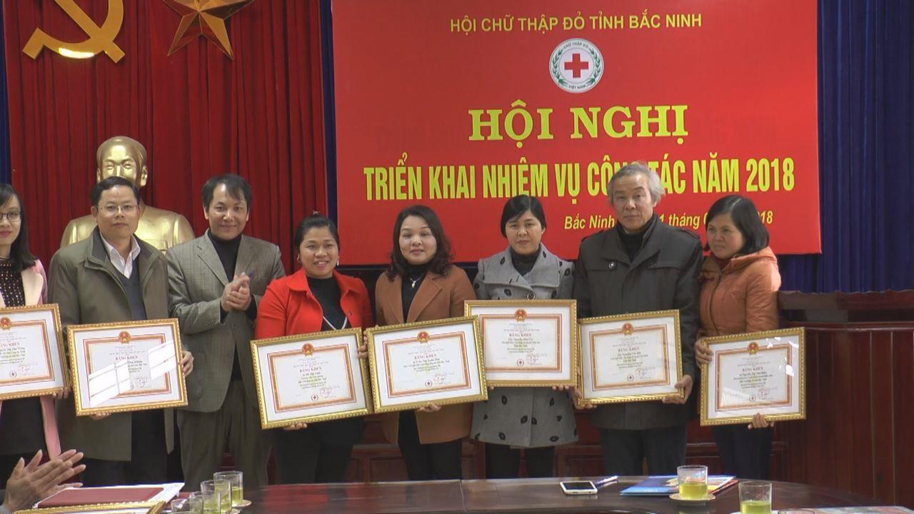 Hội Chữ thập đỏ tỉnh triển khai nhiệm vụ năm 2018