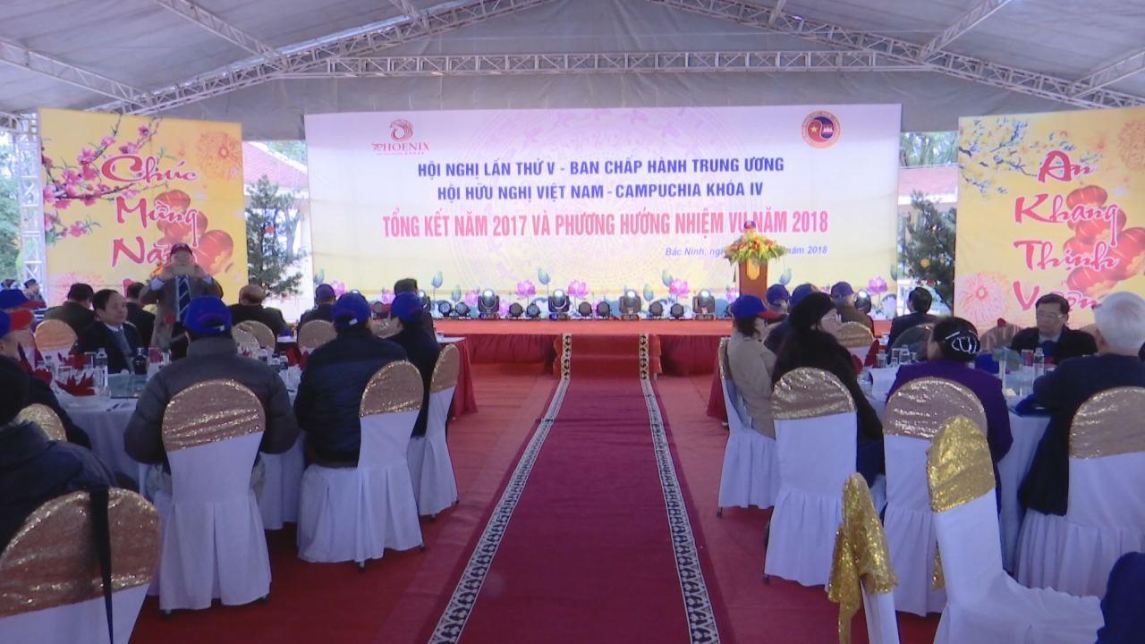 Trung ương Hội Hữu nghị Việt Nam - Campuchia triển khai nhiệm vụ