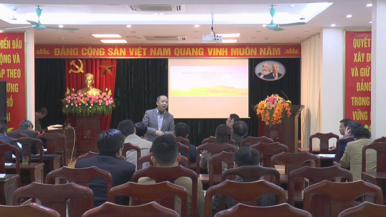 Sở Kế hoạch và đầu tư: Hội nghị trao đổi các vấn đề tích hợp quy hoạch tỉnh