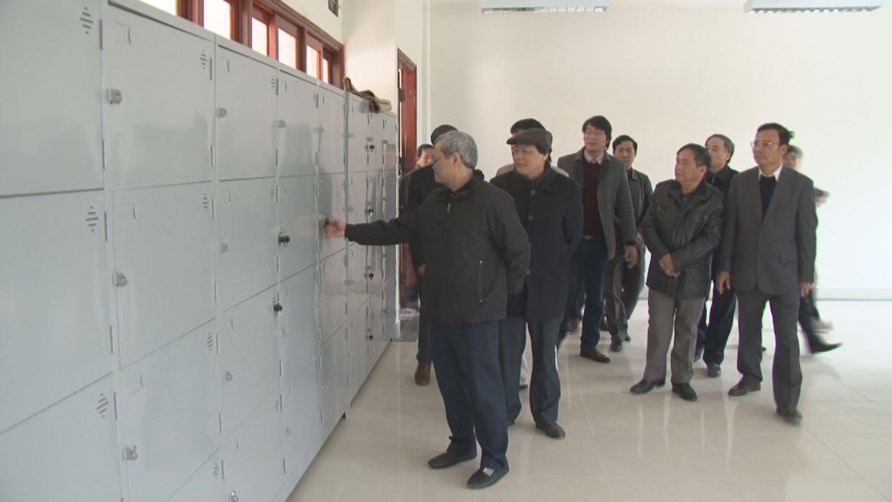 Chủ tịch UBND tỉnh kiểm tra một số công trình xây dựng