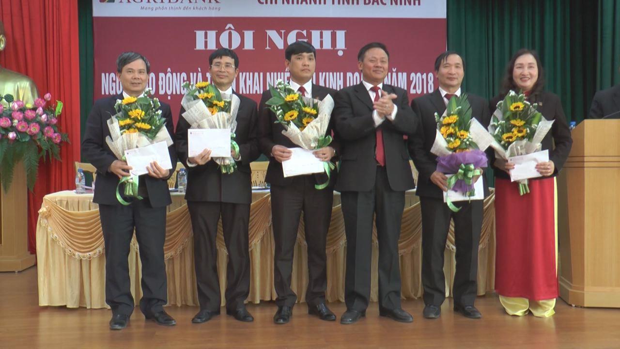 Agribank Chi nhánh tỉnh Bắc Ninh triển khai nhiệm vụ kinh doanh năm 2018