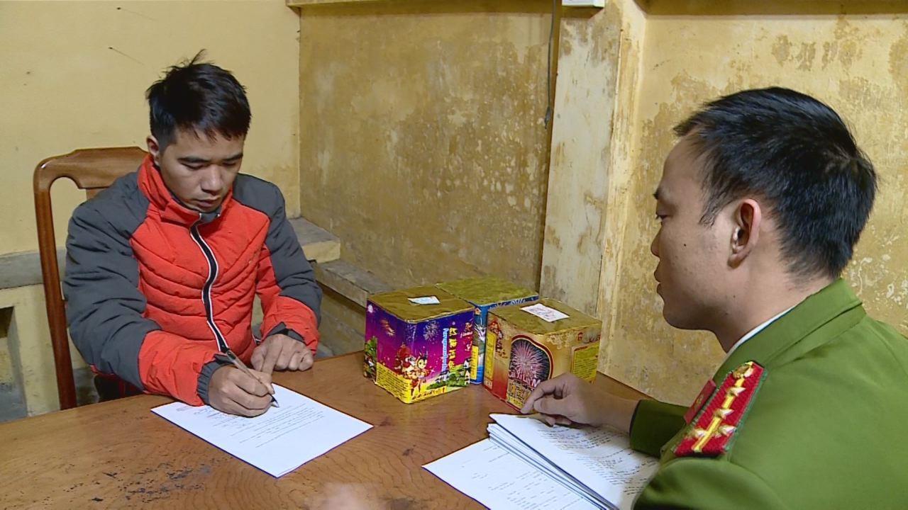 Công an thành phố Bắc Ninh bắt giữ đối tượng vận chuyển pháo