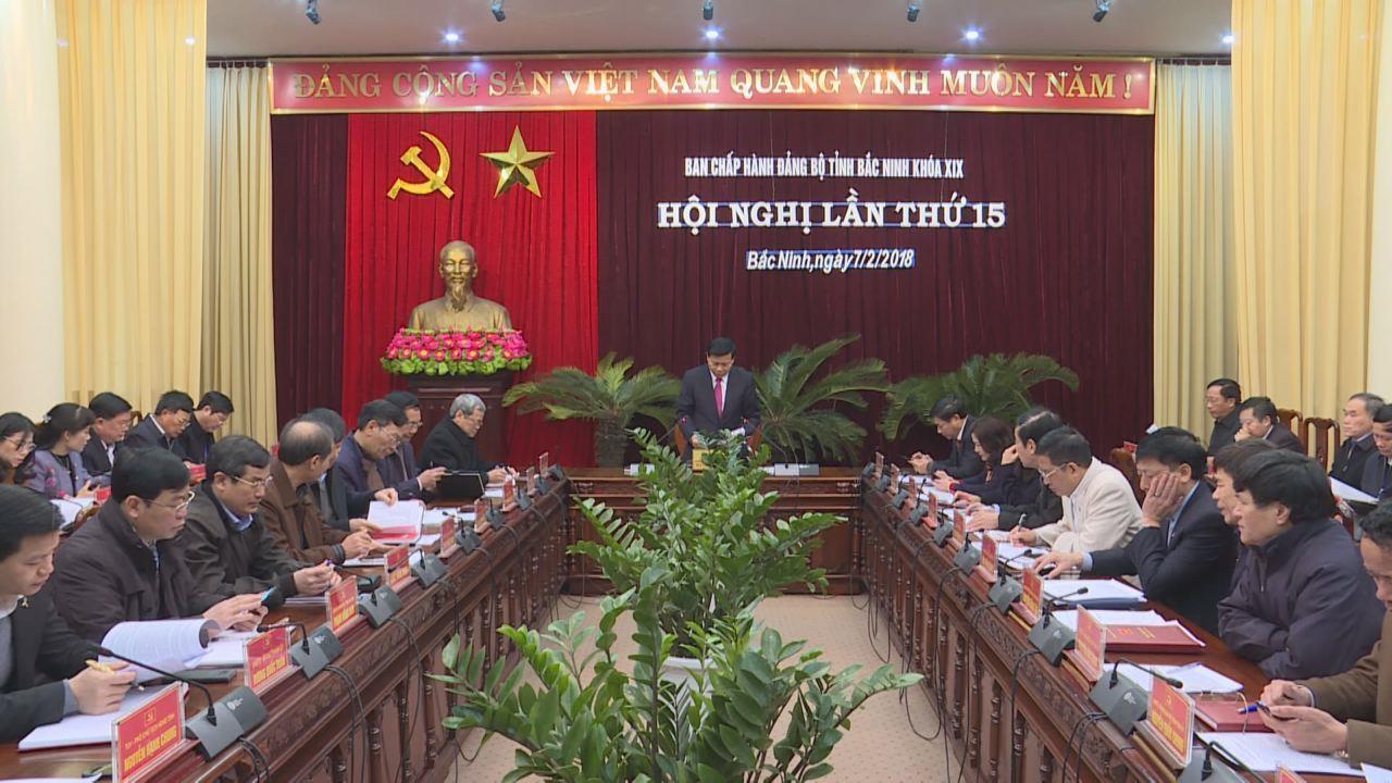 Hội nghị lần thứ 15 - Ban Chấp hành Đảng bộ tỉnh khóa XIX