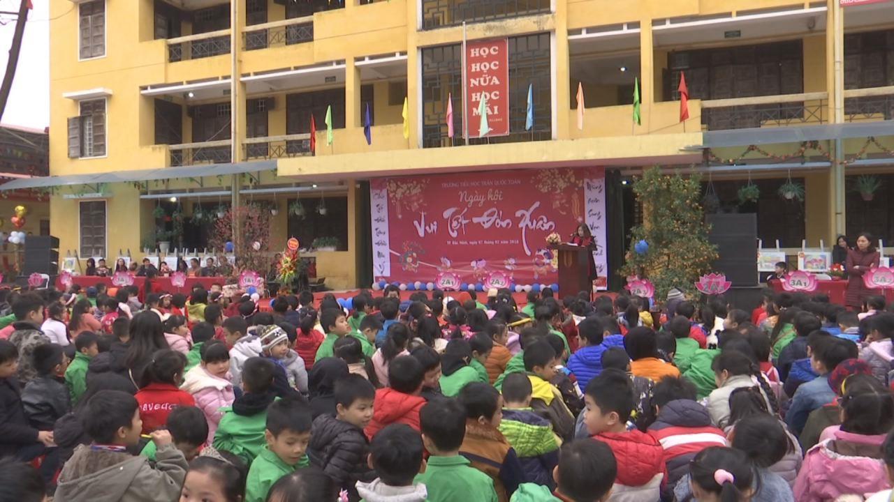 """Ngày hội """"Vui Tết đón xuân"""" Trường Tiểu học Trần Quốc Toản"""