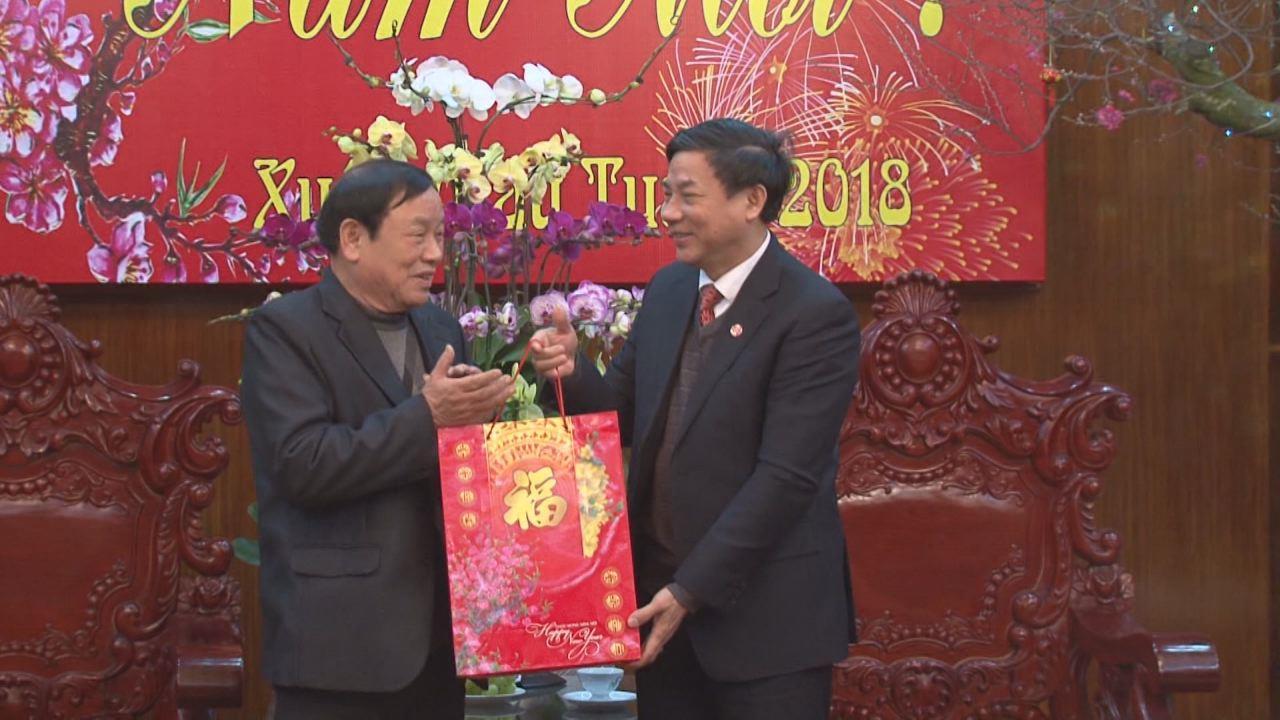 Hội đồng hương Bắc Ninh tại Thái Nguyên thăm, chúc Tết Bắc Ninh