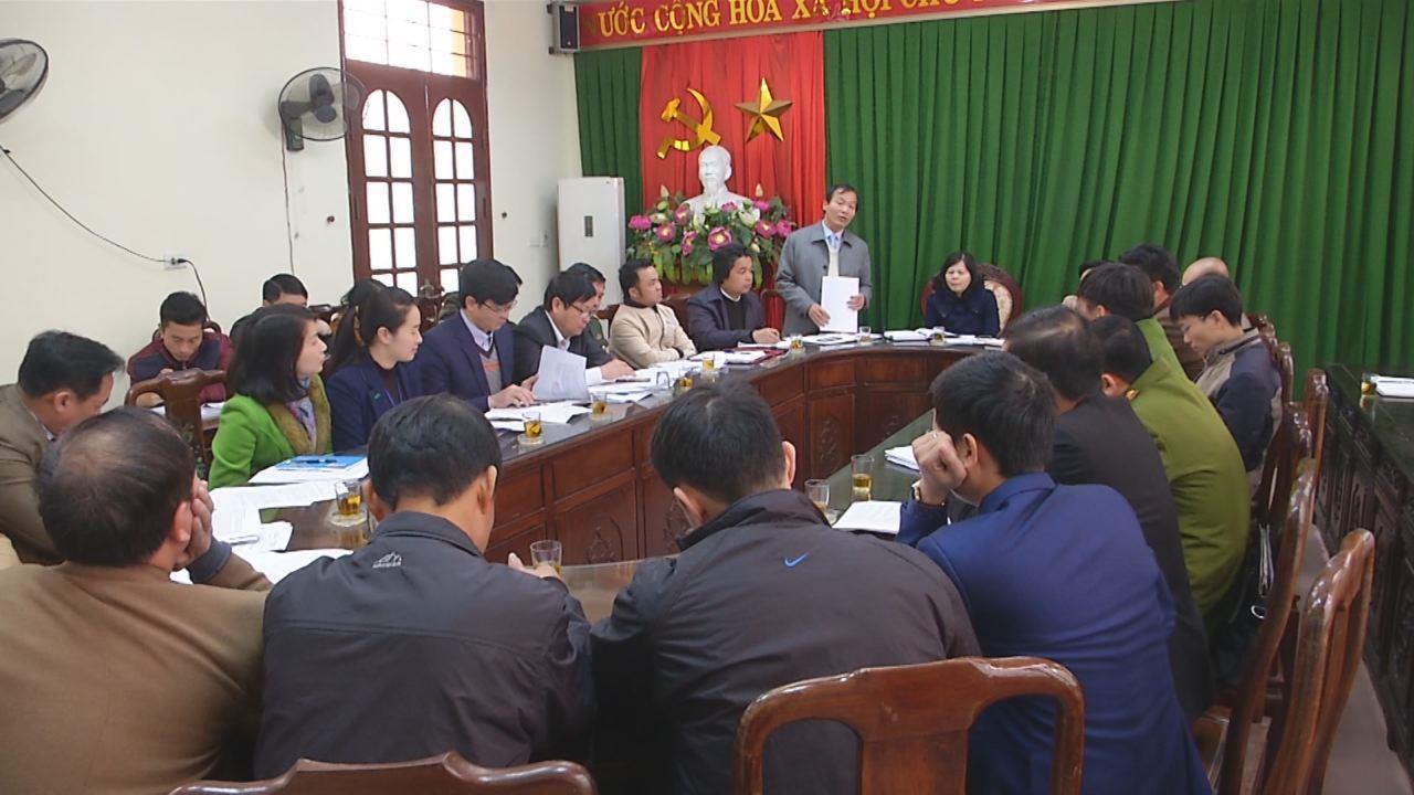 Huyện Tiên Du triển khai công tác tổ chức lễ hội xuân 2018