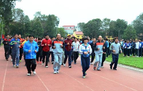 """Kế hoạch tổ chức """"Ngày chạy Olympic vì sức khỏe toàn dân năm 2018"""""""