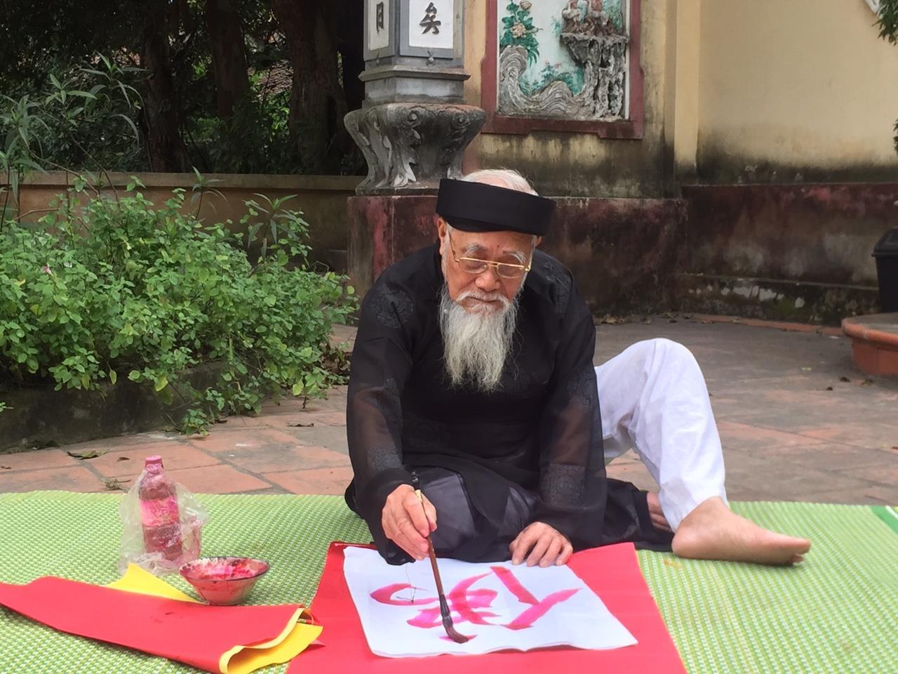 Người gìn giữ nghệ thuật thư pháp