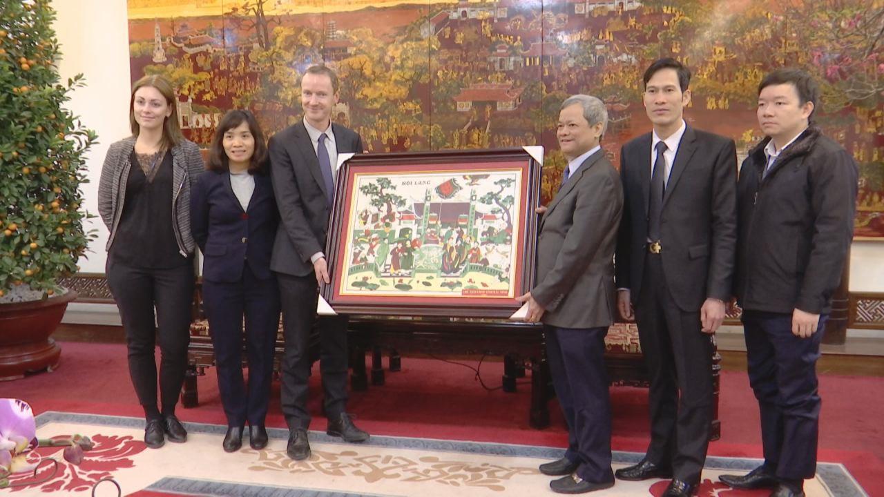 Chủ tịch UBND tỉnh tiếp Tham tán thương mại Đại sứ quán Đan Mạch