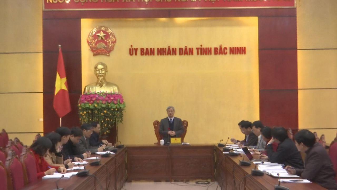 Hội nghị trực tuyến triển khai công tác cải cách hành chính năm 2018