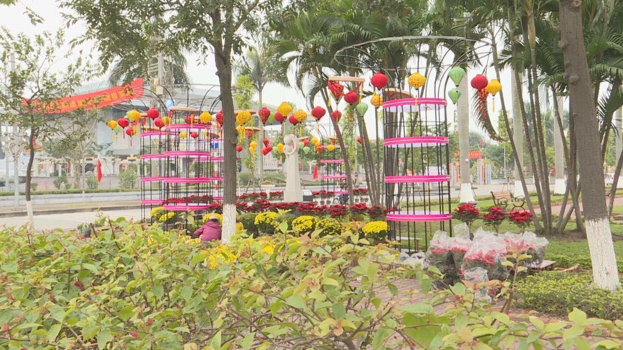 Thành phố Bắc Ninh chỉnh trang đô thị đón Tết