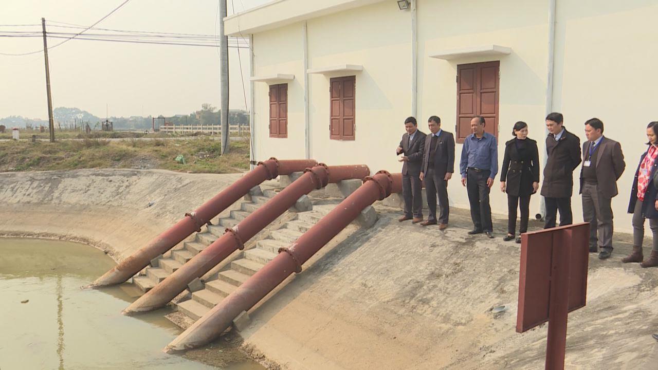 Phó Chủ tịch UBND tỉnh Nguyễn Văn Phong kiểm tra sản xuất nông nghiệp  và công tác chuẩn bị tết Nguyên đán tại Lương Tài