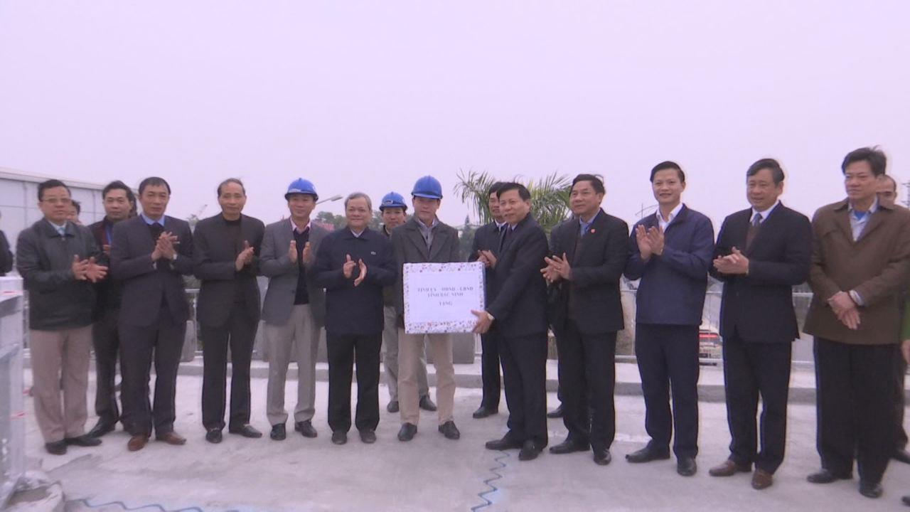 Lãnh đạo tỉnh kiểm tra thông xe kỹ thuật các công trình giao thông  trên địa bàn thành phố Bắc Ninh