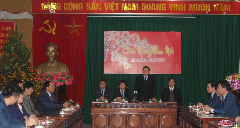 Bí thư Tỉnh ủy Nguyễn Nhân Chiến  thăm, chúc Tết cán bộ, nhân viên Đài PT&TH Bắc Ninh