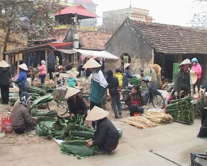 Chợ quê ngày Tết – Nét văn hóa đặc trưng của người Việt