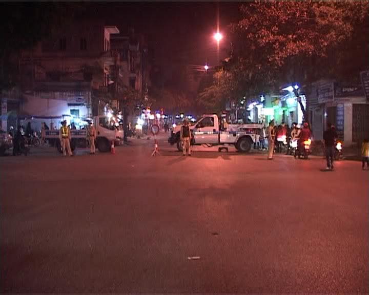Đảm bảo trật tự An toàn giao thông trong đêm giao thừa để nhân dân vui tết