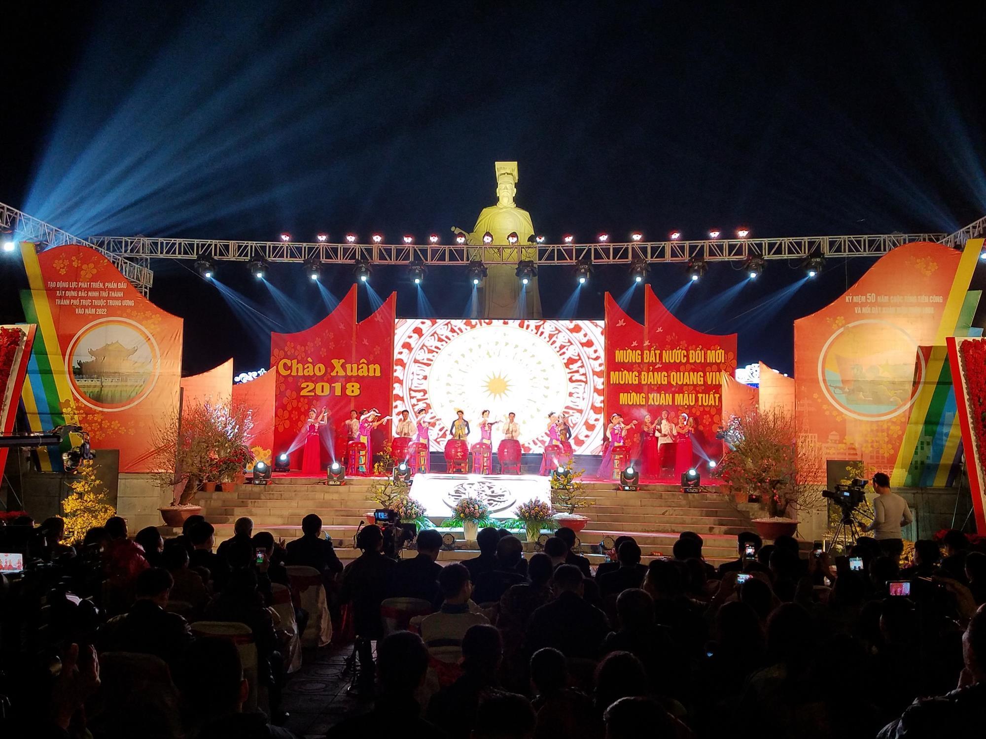 Chương trình nghệ thuật đặc biệt: Bắc Ninh chào xuân Mậu Tuất 2018