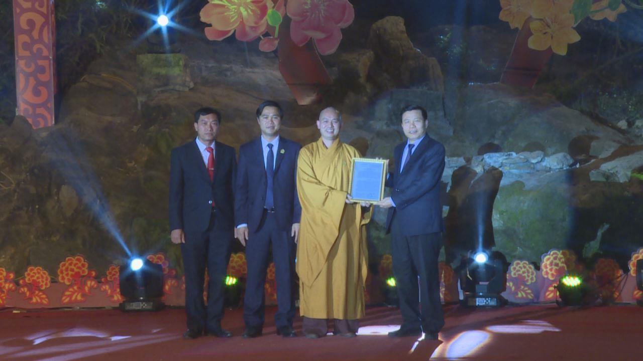 Lễ đón nhận Bảo vật Quốc gia chùa Phật Tích Bộ tượng Linh thú