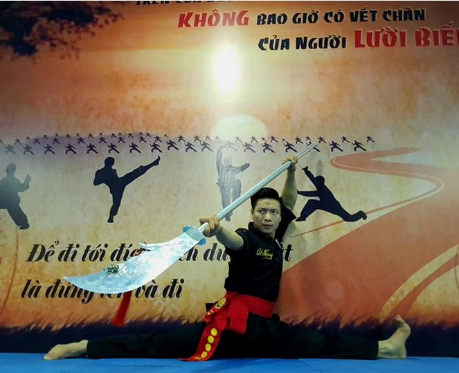 """Võ sư Út Nguyễn """"cháy"""" hết mình với võ cổ truyền"""